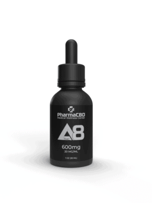 Delta 8 Tincture bottle of 600mg