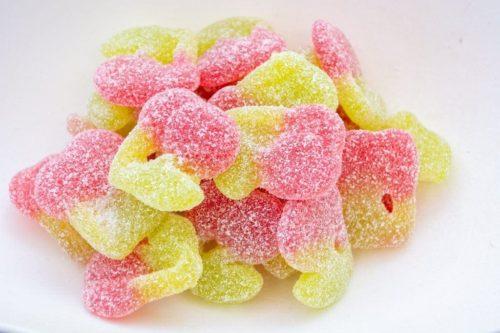 Delta 8 gummy cherry sours